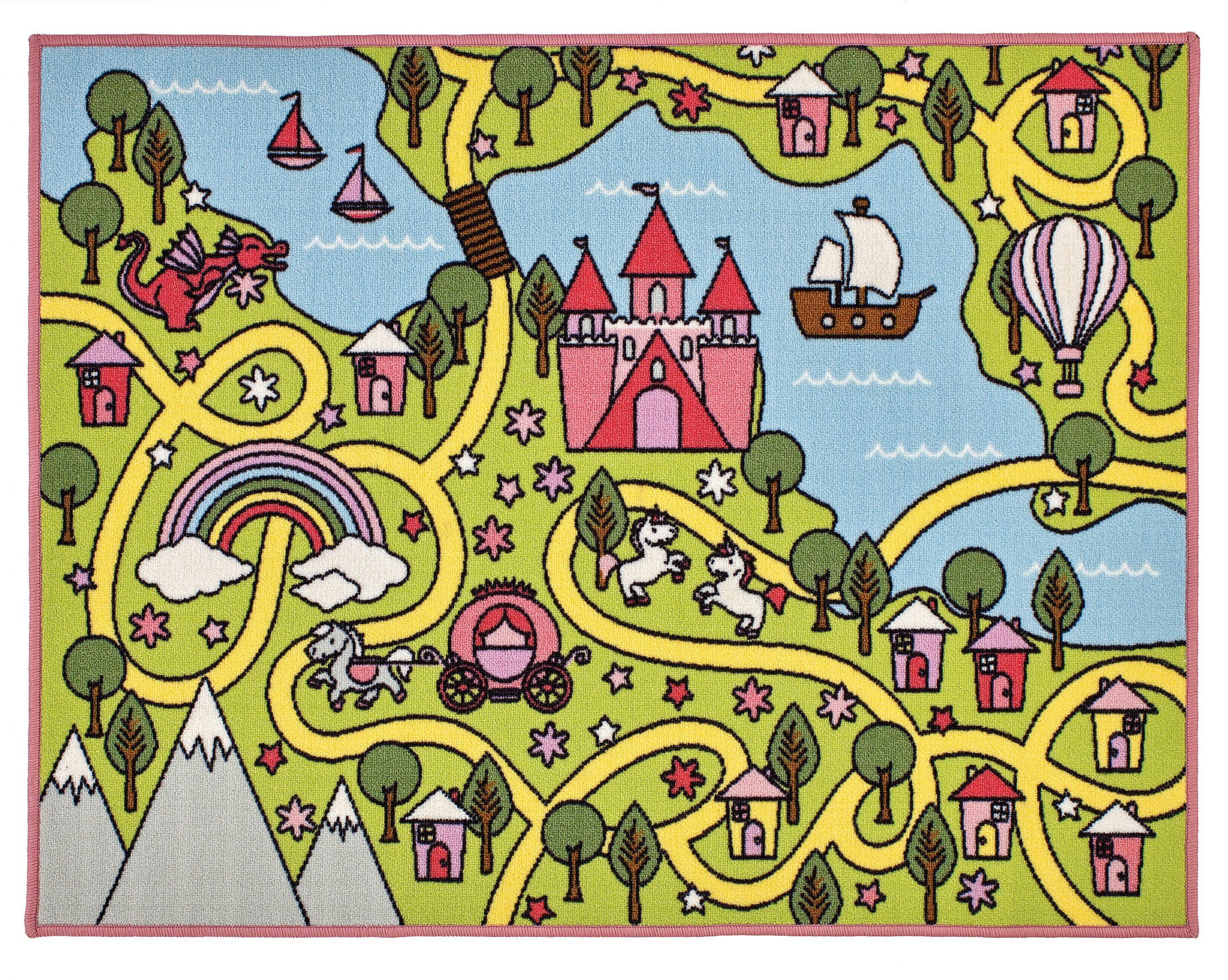 Kids Playtime Fairytale World Mat 100x130