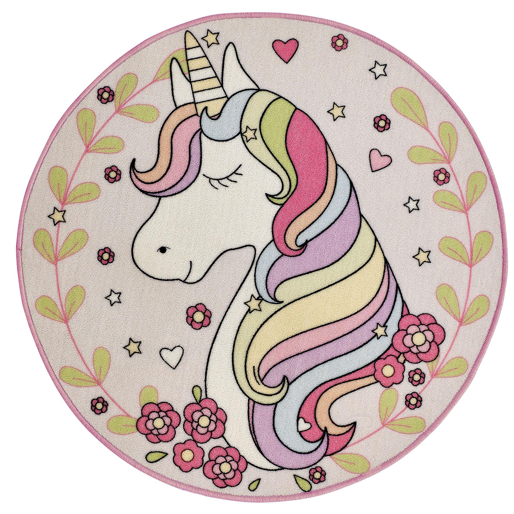 Kids Playtime Magic Unicorn Mat 100x100