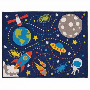 Kids Playtime Moon Mission Mat 100x130