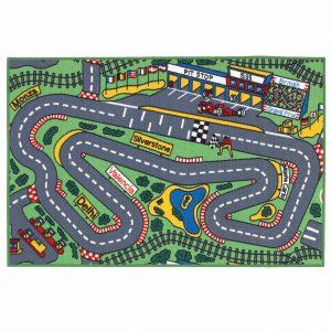 Kids Playtime Race Track Mat 100x150