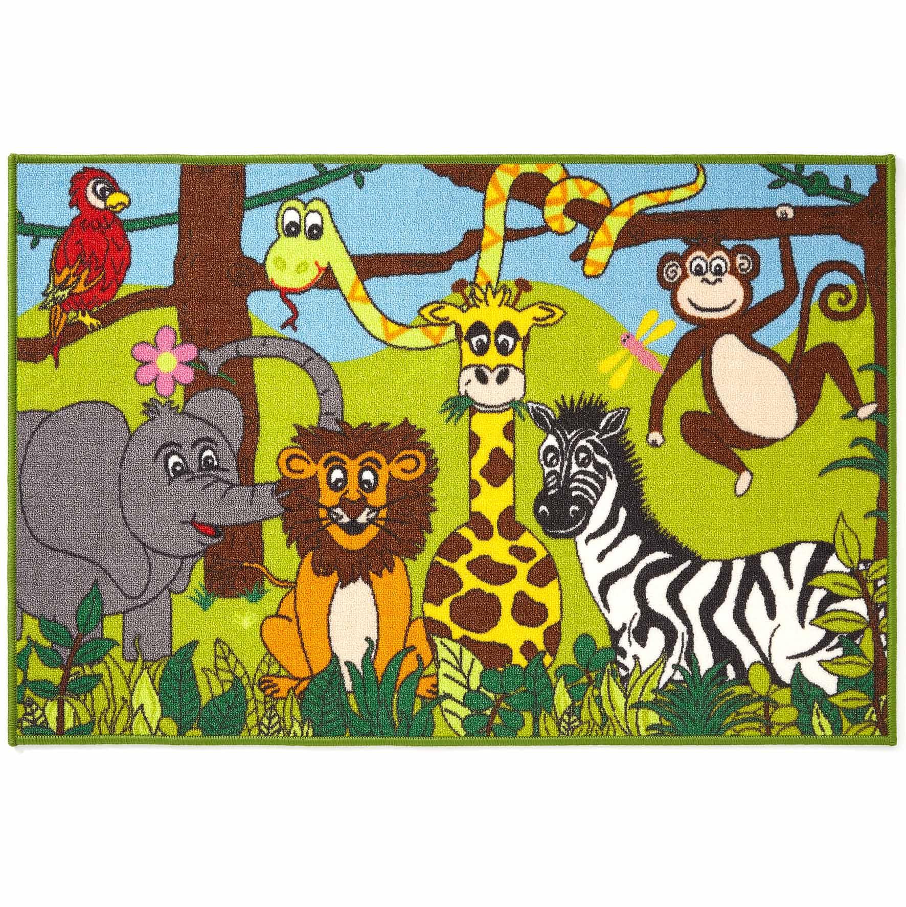Kids Bambino Jungle Rug 80x120