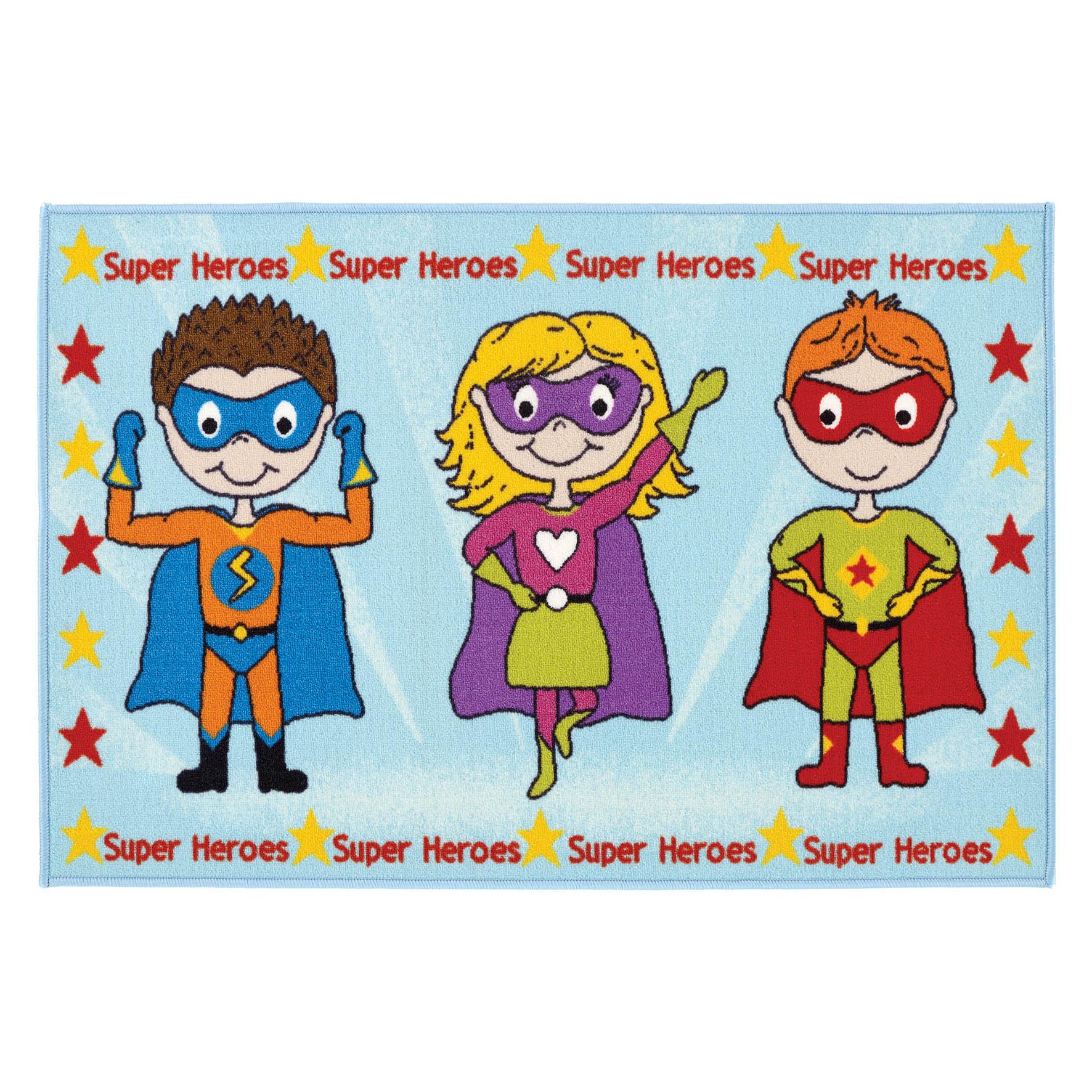 Kids Bambino Super Heroes Rug 80x120