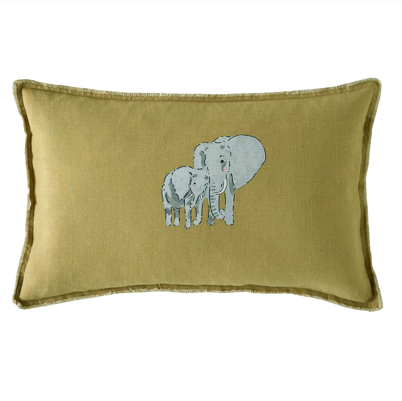 Sophie Allport ZSL Elephant Cushion