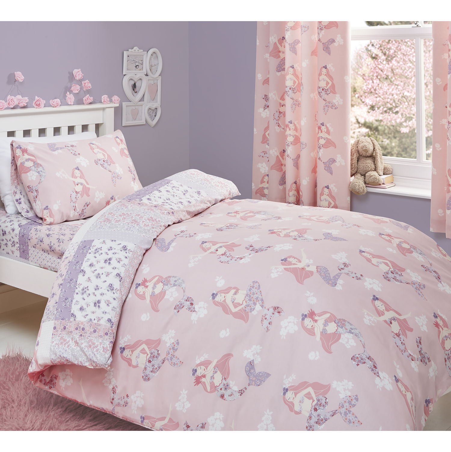Dreams & Drapes Bedlam Mermaids Duvet Set