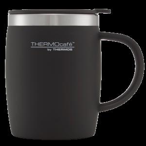 ThermoCafe Soft Touch Desk Mug Black 450ml