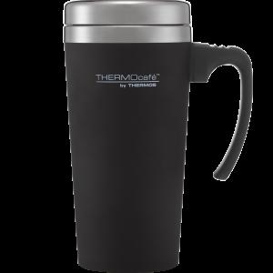 ThermoCafe Soft Touch Travel Mug Black 420ml
