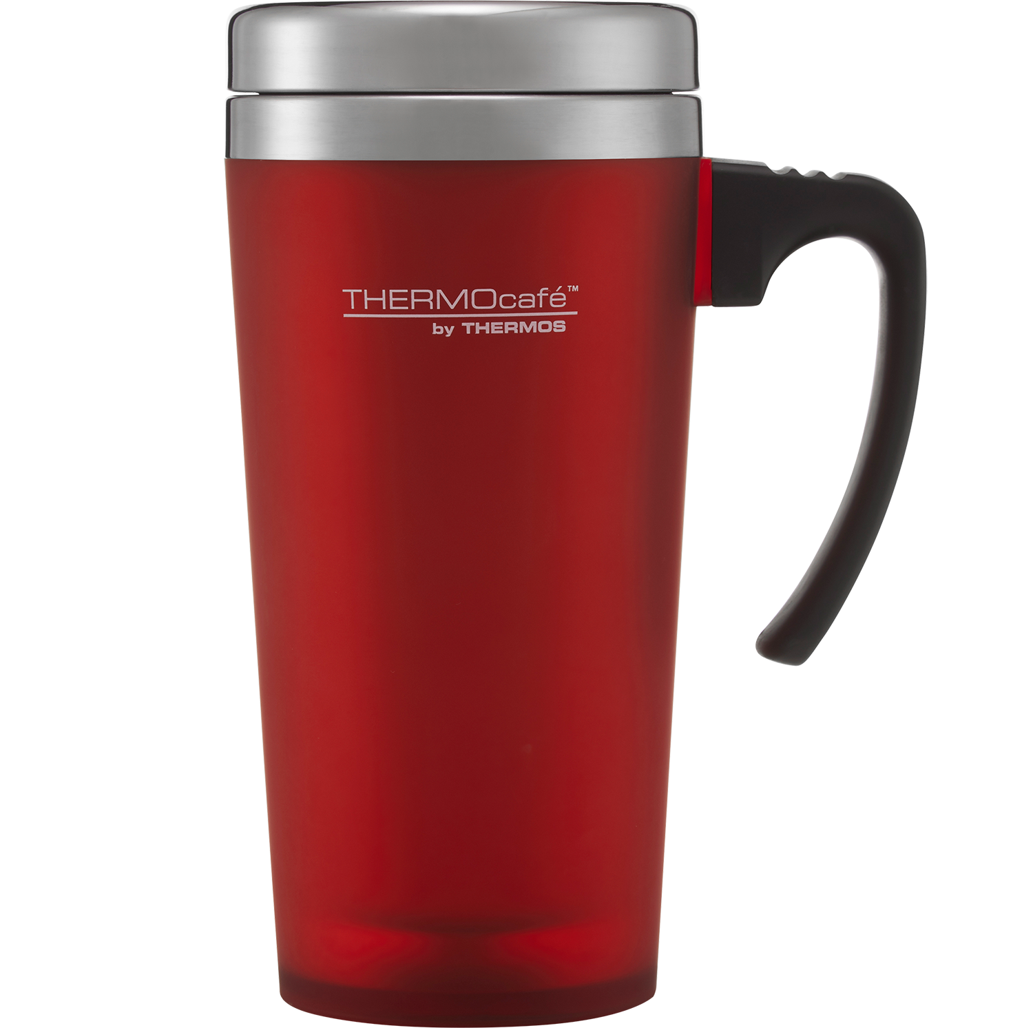 ThermoCafe Soft Touch Travel Mug Red 400ml
