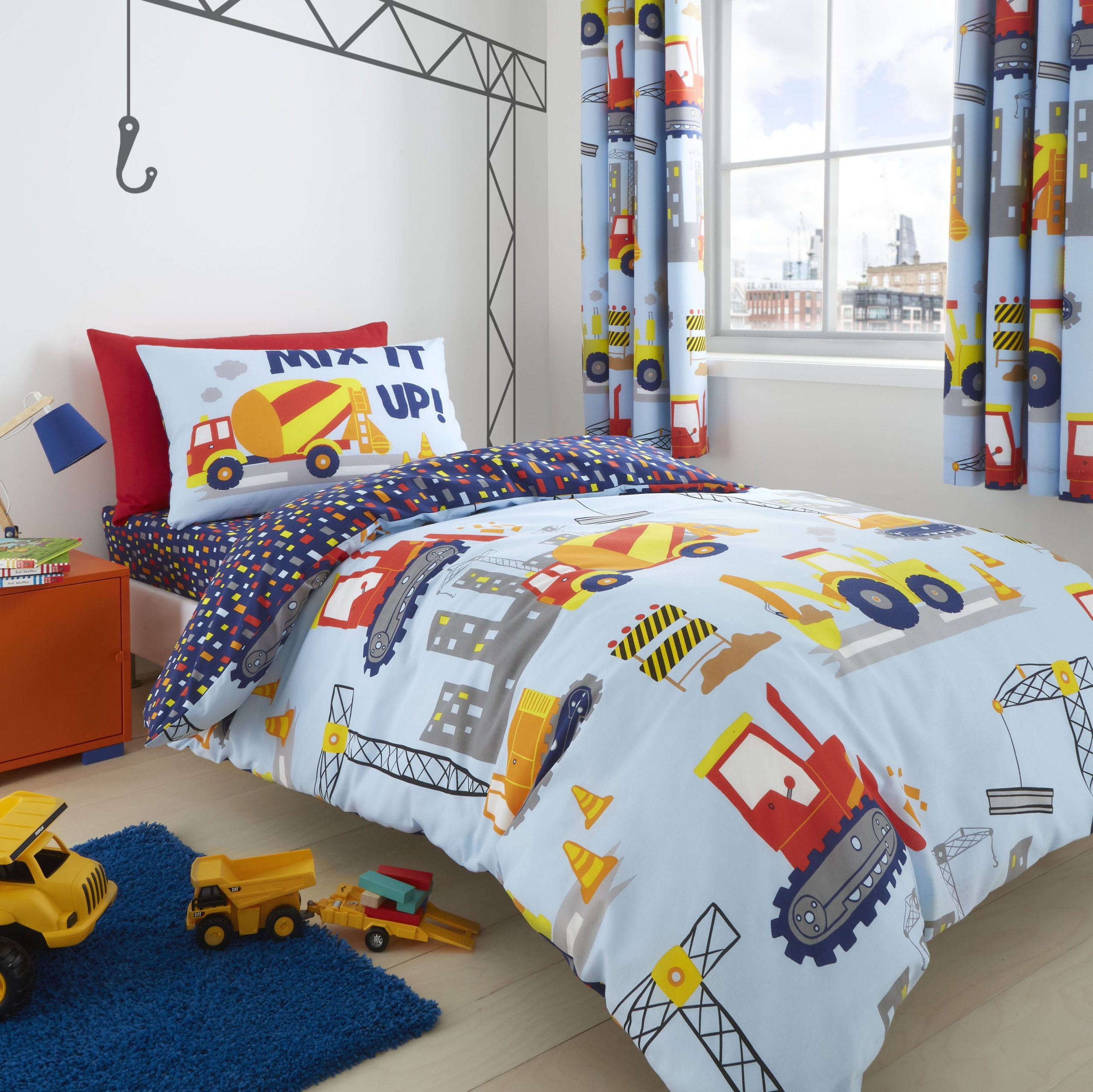 Catherine Lansfield Construction Duvet Set