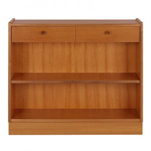 Nathan Classic Low Open Bookcase 6454
