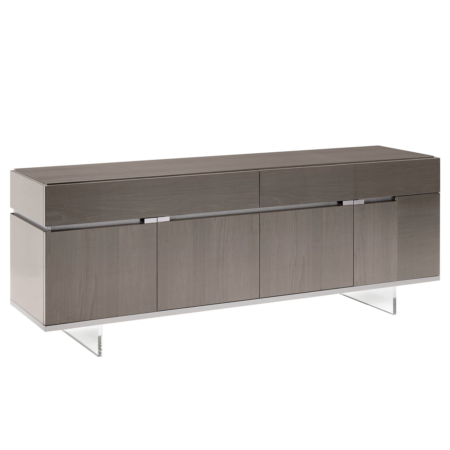 Mercury 4 Door High Gloss Small Sideboard