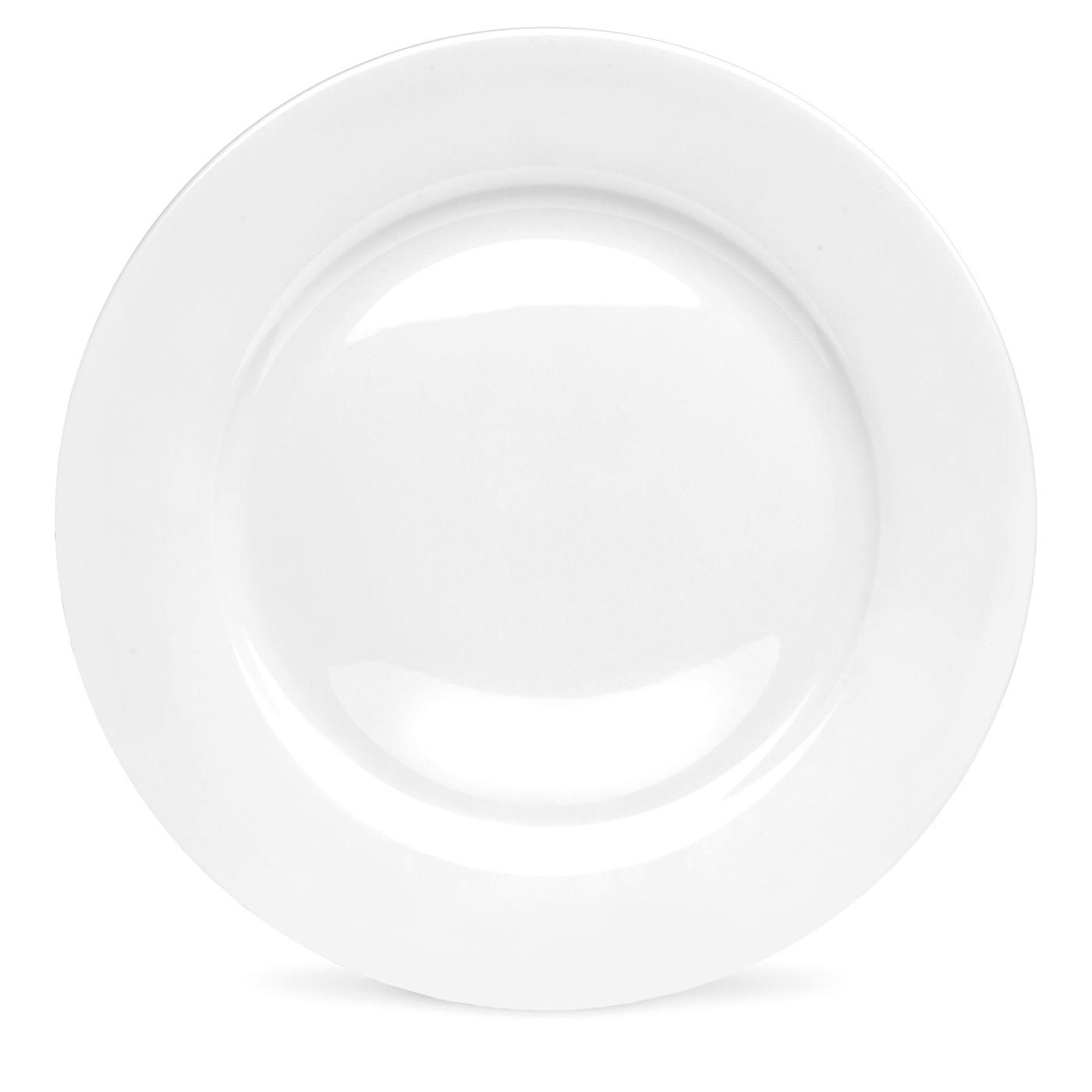 Royal Worcester Serendipity White Dinner Plate - 10.5