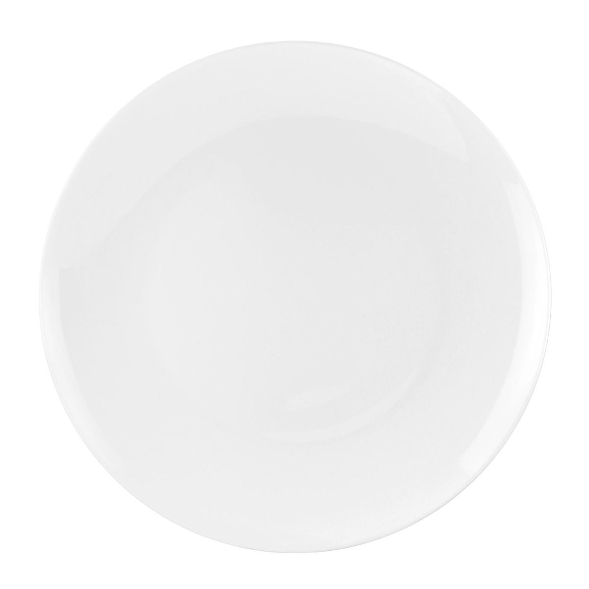 Royal Worcester Serendipity White Coupe Plate - 10.5