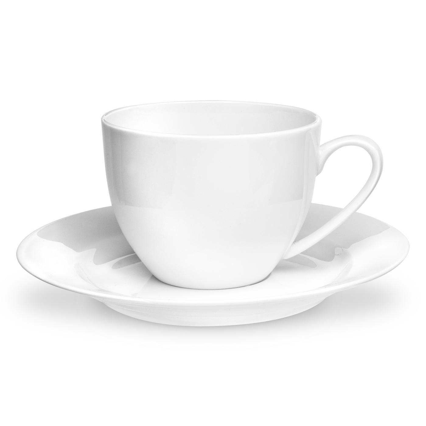 Royal Worcester Serendipity White Teacup & Saucer
