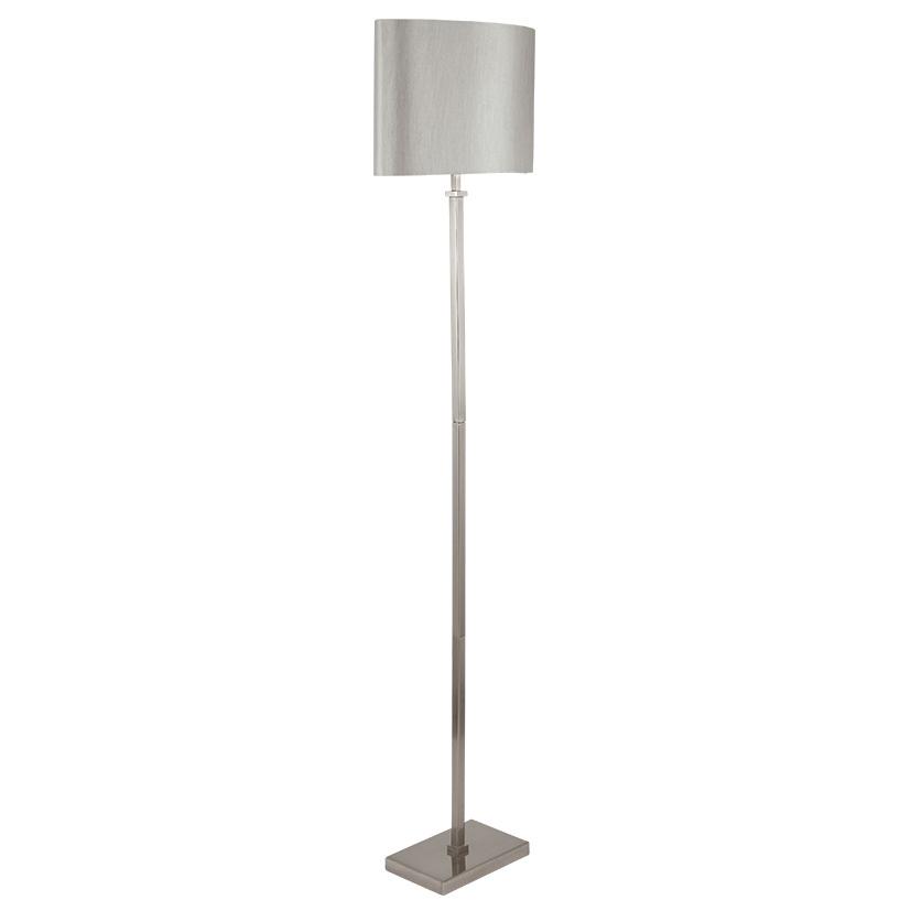 Satin Nickel Floor Lamp