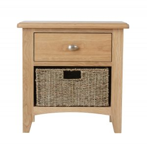 Hurstley 1 Drawer 1 Basket Unit