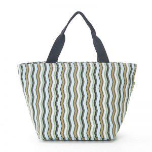 Cool bag - Green Zig Zag
