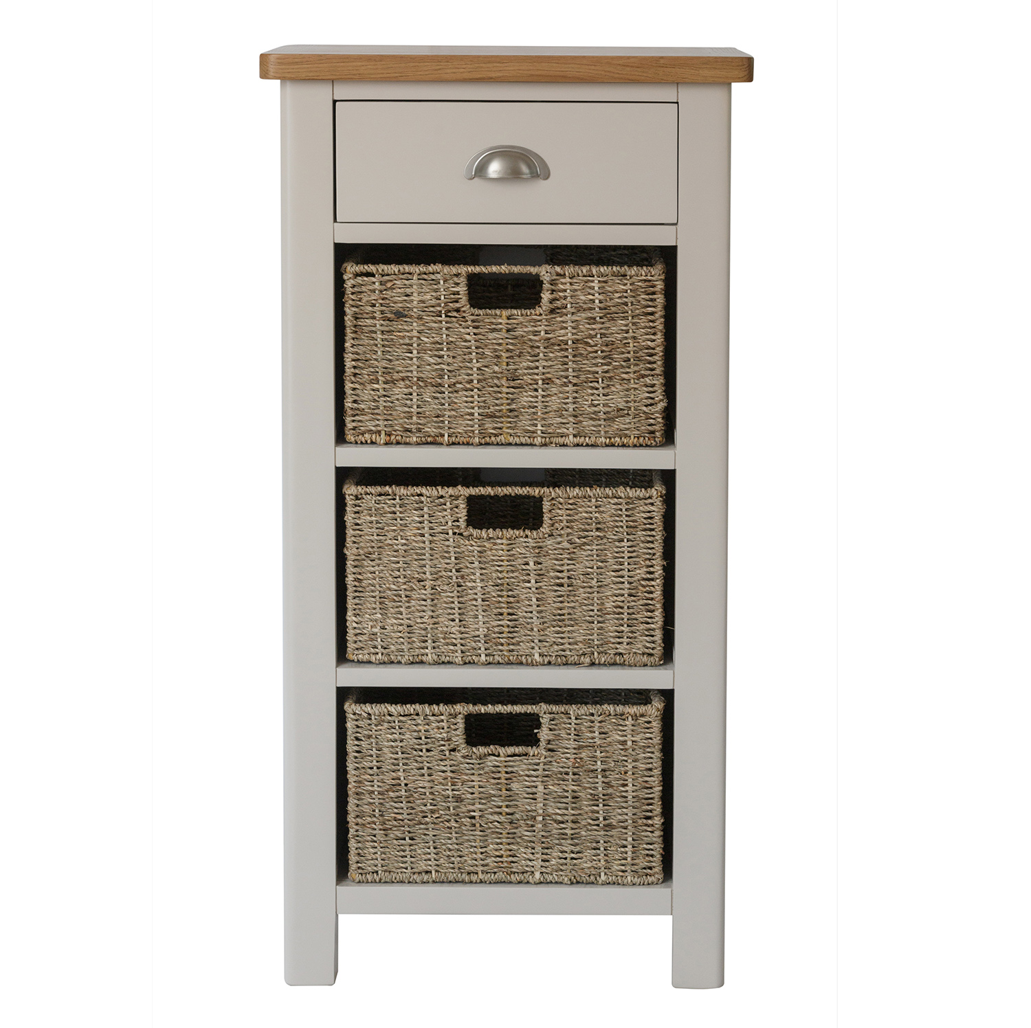 Chiltern Dove 1 Drawer 3 Basket Unit