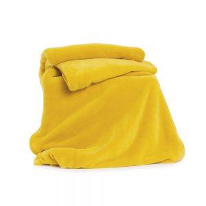 Deyongs Snuggle Touch Throw 140x180 Ochre