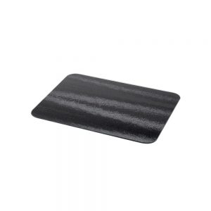 Black Small Glass Worktop Protector