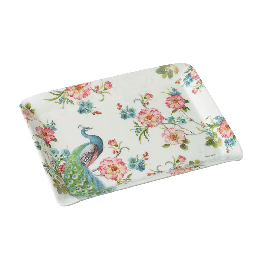 Peacock Scatter Tray