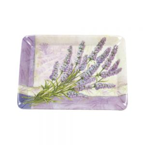 Lavender Flowers Scatter Tray