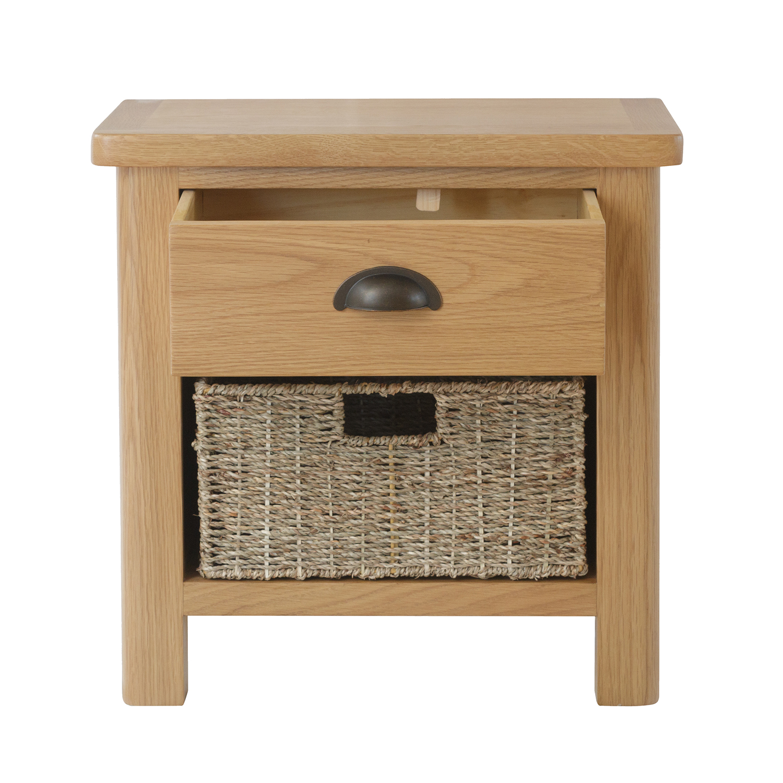 Chiltern Oak 1 Drawer 1 Basket Unit
