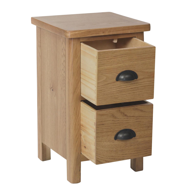 Chiltern Oak Small Bedside Cabinet