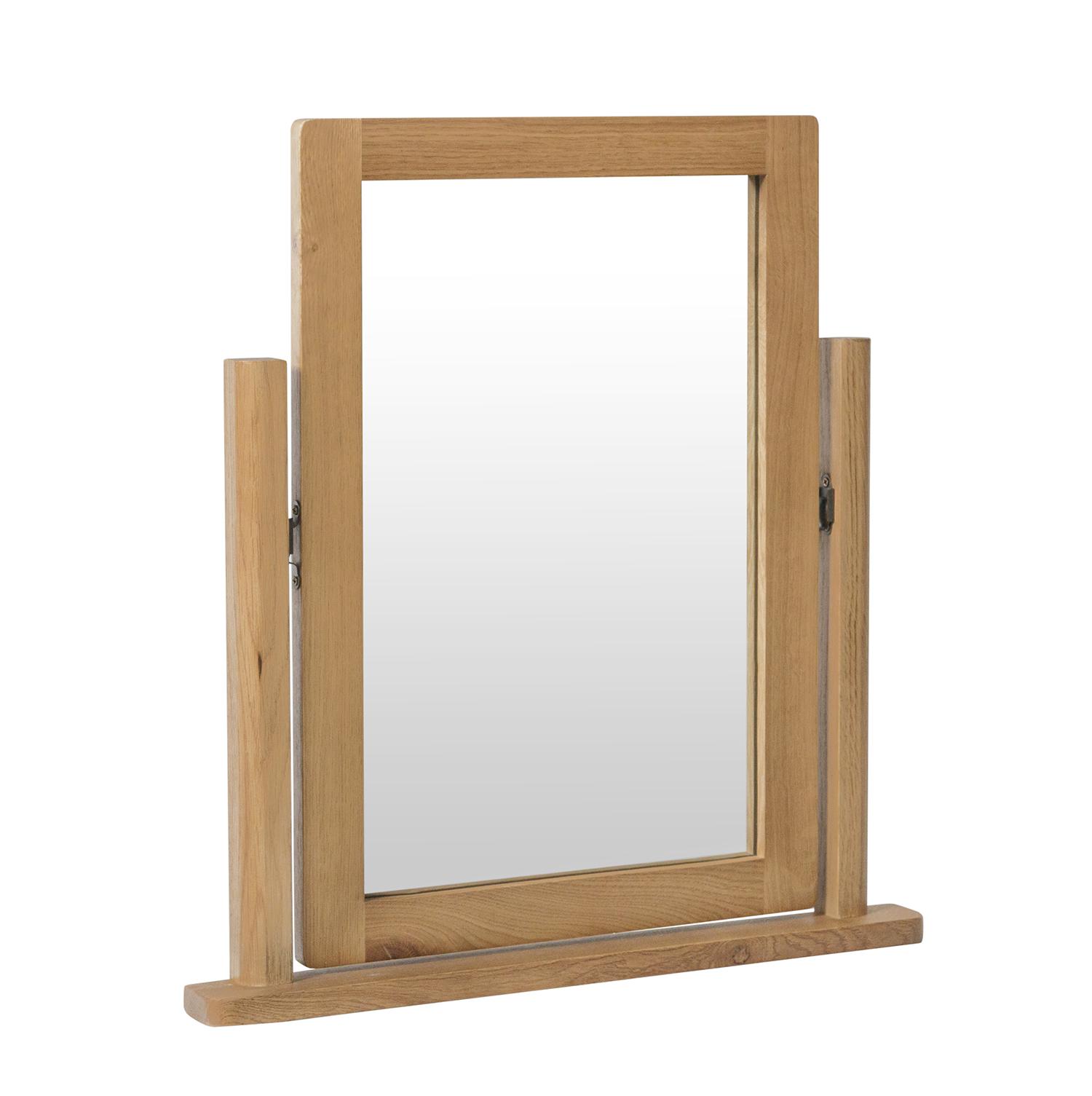 Chiltern Oak Trinket Mirror