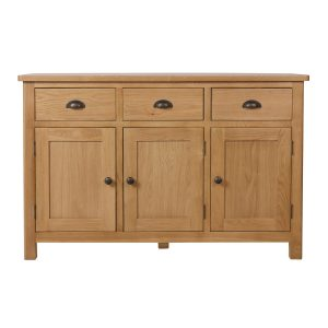 Chiltern Oak 3 Door Sideboard