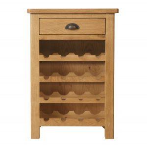 Chiltern Oak Wine Cabinet