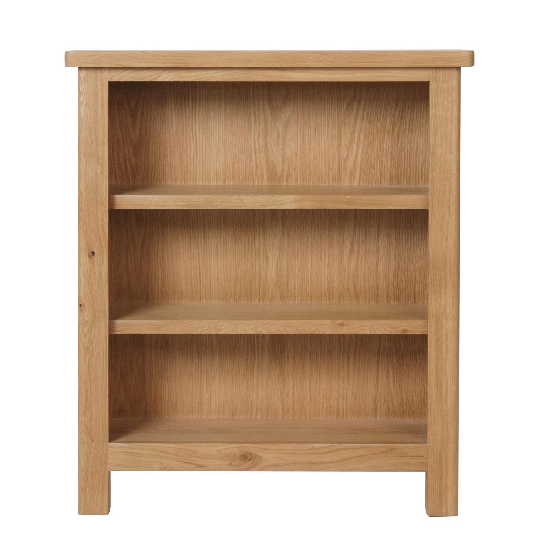 Chiltern Oak Small Wide Bookcase