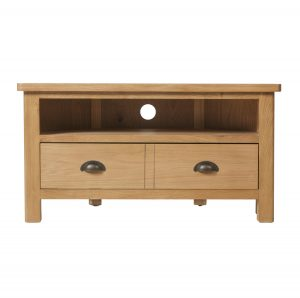 Chiltern Oak Corner TV Unit