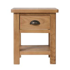 Chiltern Oak 1 Drawer Lamp Table