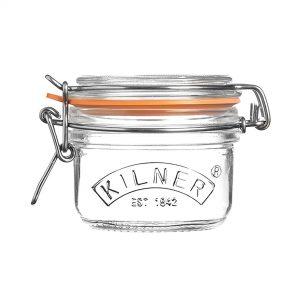 Kilner Clip Top Round Jar - 0.125lt