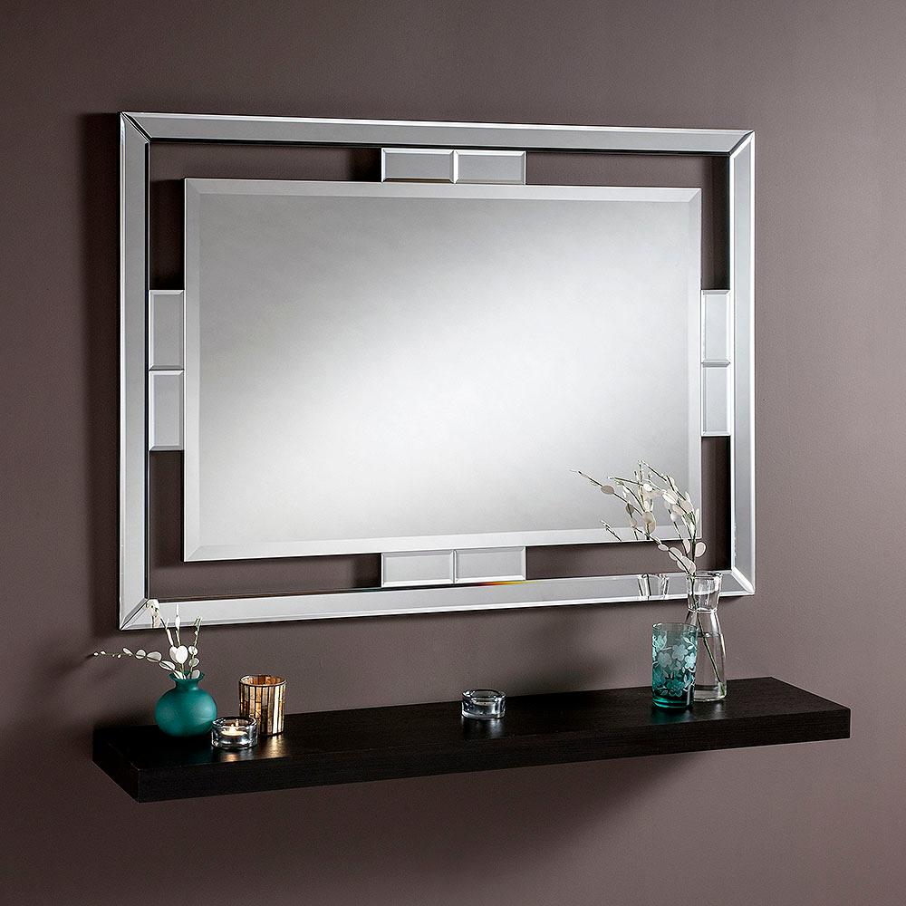 "Rio Mirror 48x36"" Bevelled Glass"