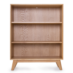 Scandi Low Bookcase
