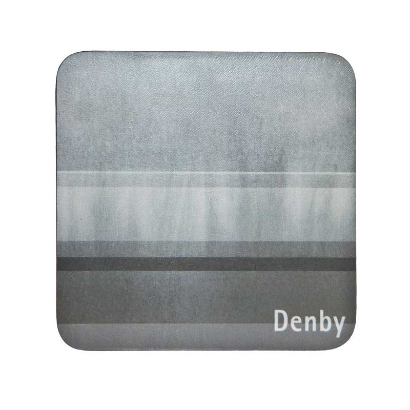 Denby Colours Set of 6 Coasters - Grey
