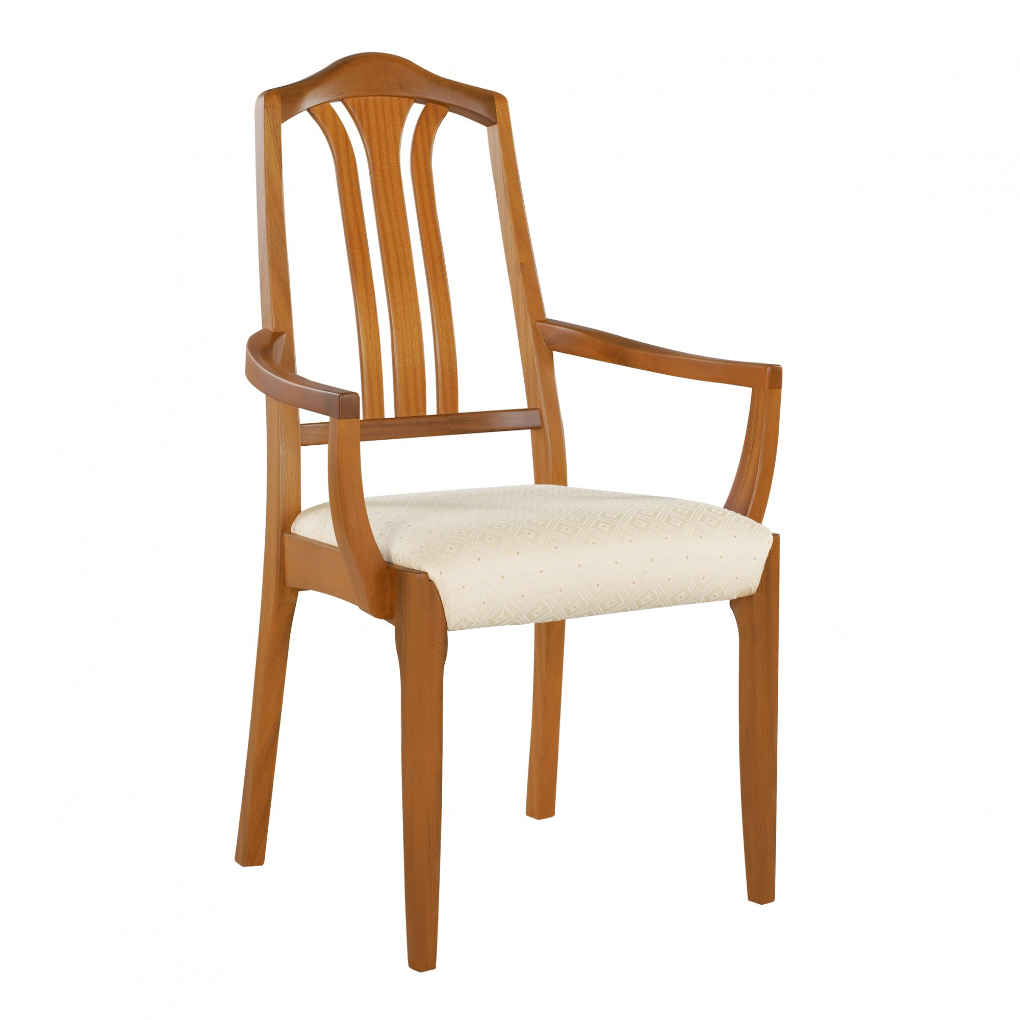 Nathan Classic Slat Back Carver Chair 3134