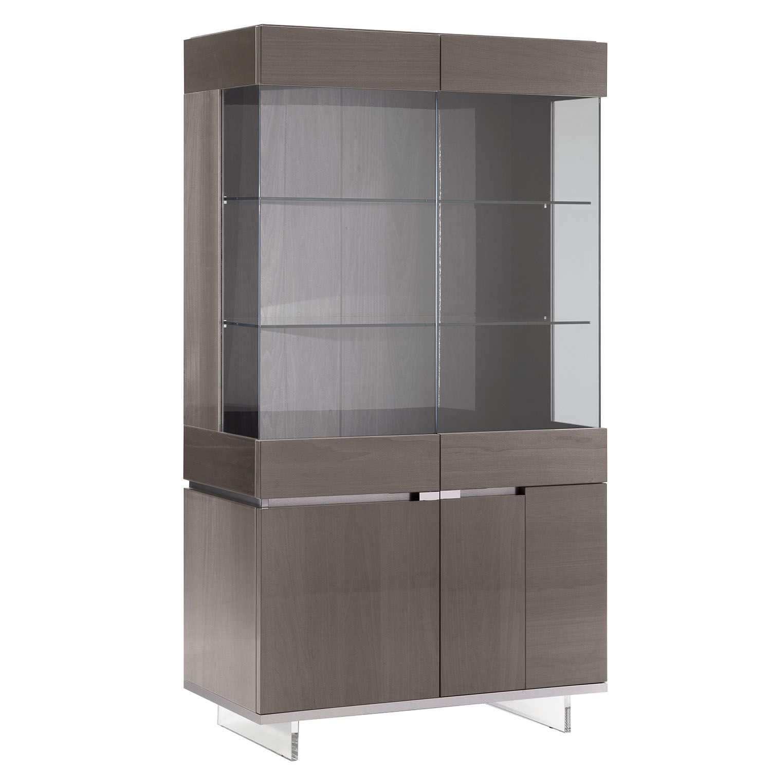 Mercury 2 Door High Gloss Display Cabinet