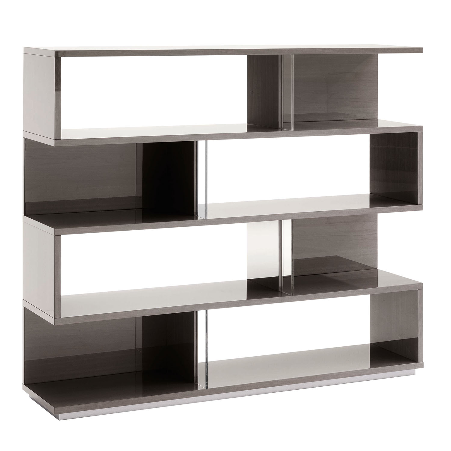 Mercury High Gloss Bookcase