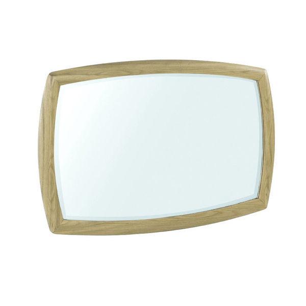 Nathan Shades Oak Shaped Wall Mirror 5865