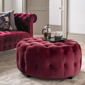 Acton Footstool Berry