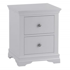Croft Grey Large Bedside Cabinet