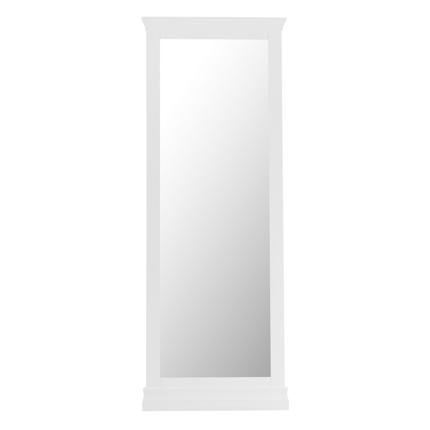Croft White Cheval Mirror