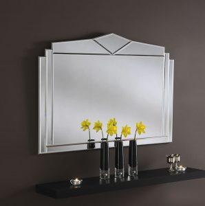 Art Deco Mirror - 43 x 30
