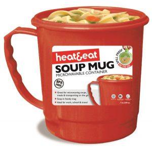 Microwave Mug - Red