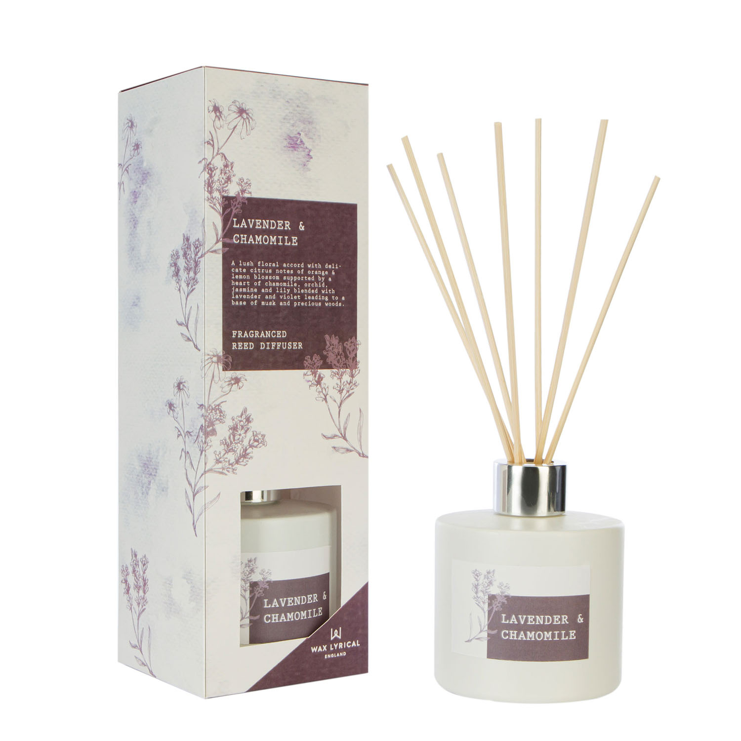 Wax Lyrical Reed Diffuser 100ML Lavender and Chamomile