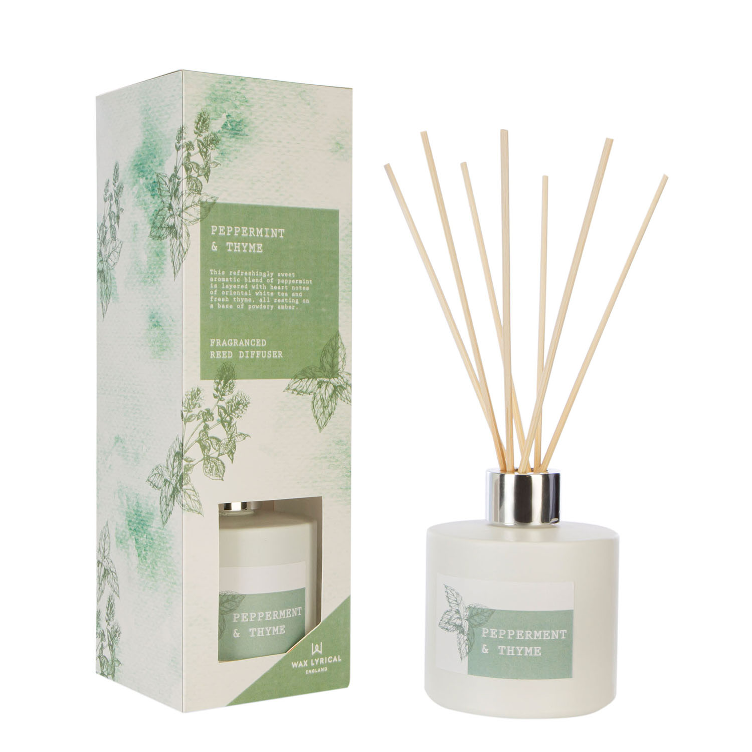 Wax Lyrical Reed Diffuser 100ML Peppermint and Thyme