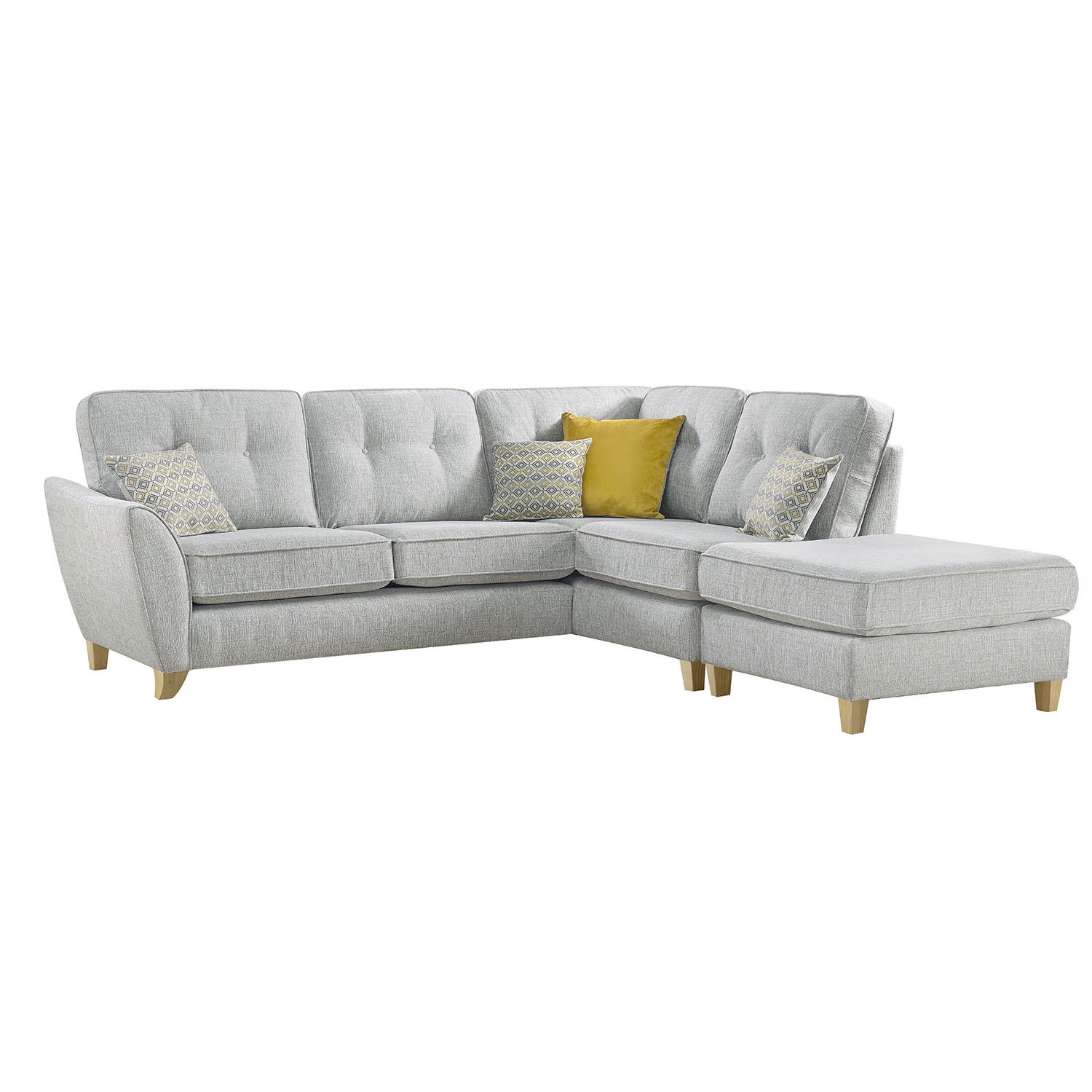 Amberley Small Armless Chaise Group RHF