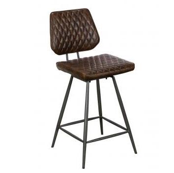 Dalton Bar Chair Dark Brown